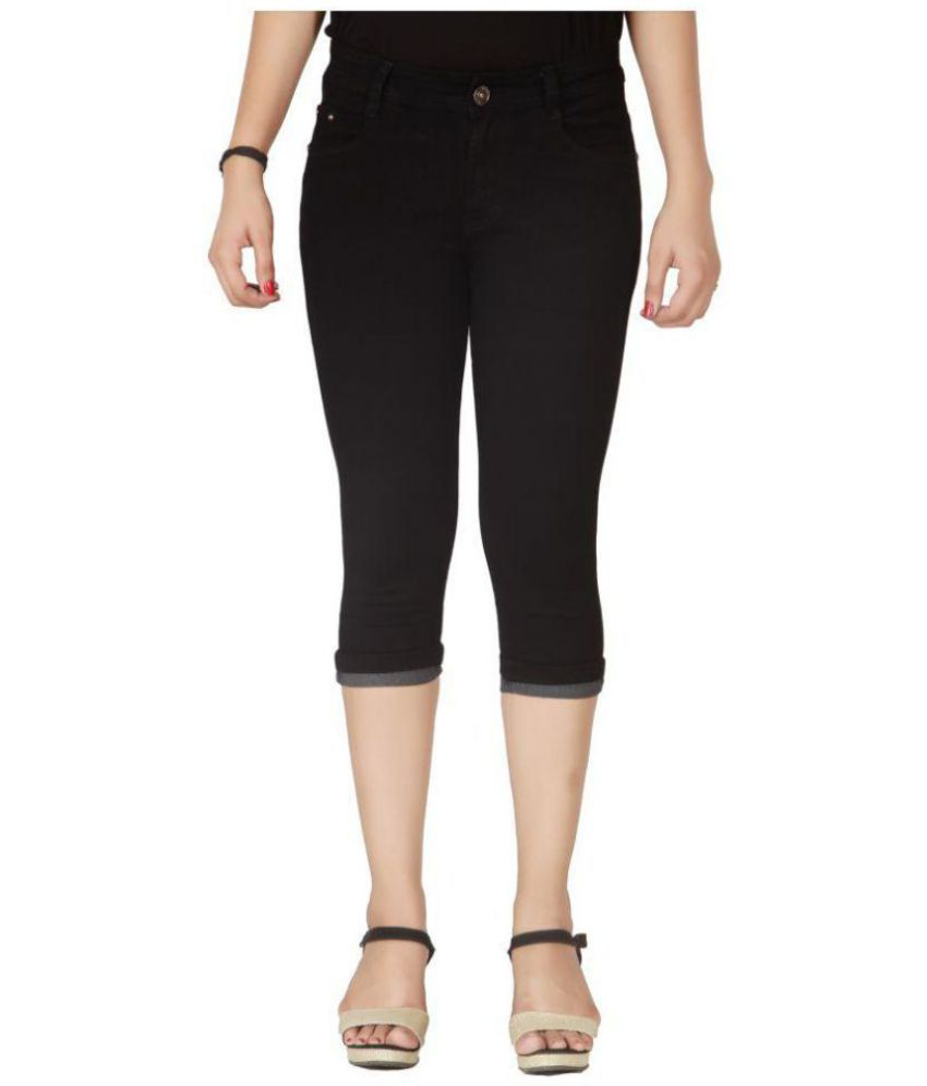 Flirt Nx Denim Lycra Jeans - Black