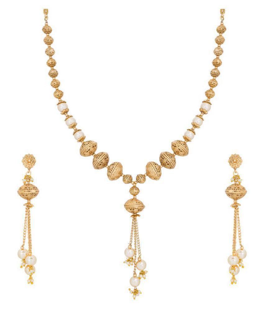Aadita Fashion Jewellery Necklaces Set