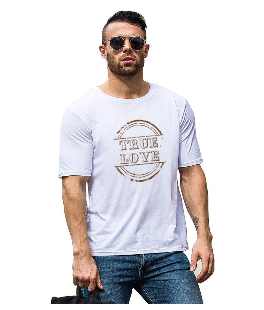 Generic White Half Sleeve T-Shirt