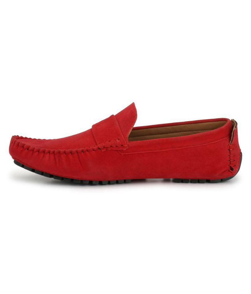 ZebX Red Loafers ZebX Red Loafers ZebX Red Loafers ...