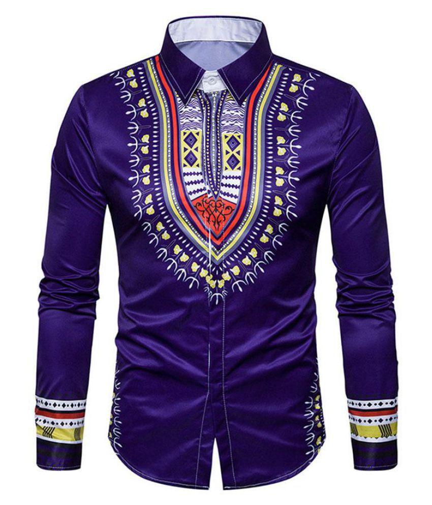 Generic Purple Half Sleeve T-Shirt