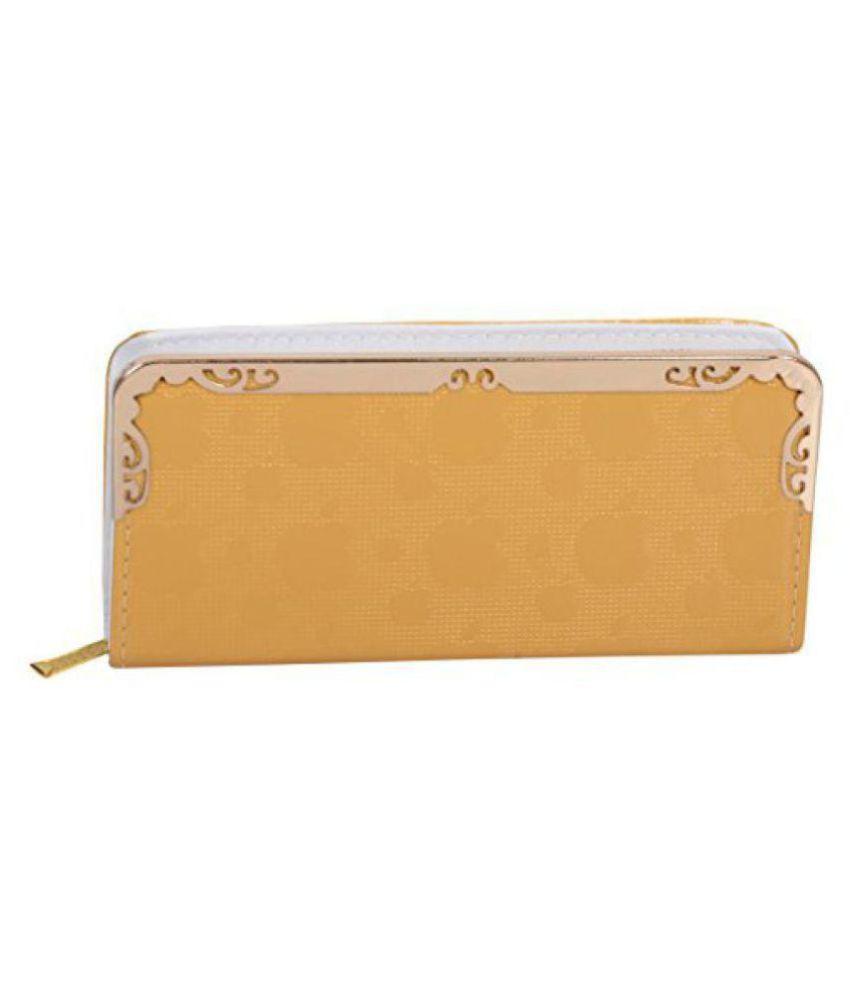 Vedant Ji Yellow Wallet