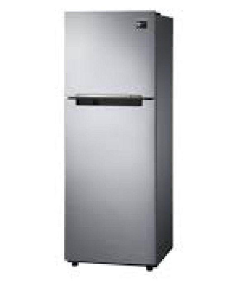 Samsung 253 Ltr 2 Star RT28N3022S8 Double Door Refrigerator   Silver