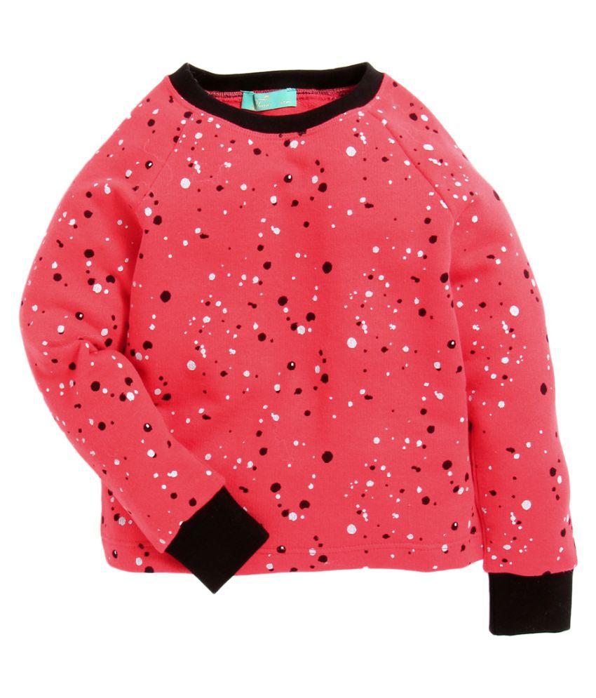Tiara Girls' Sweatshirt With Reverse Sequence