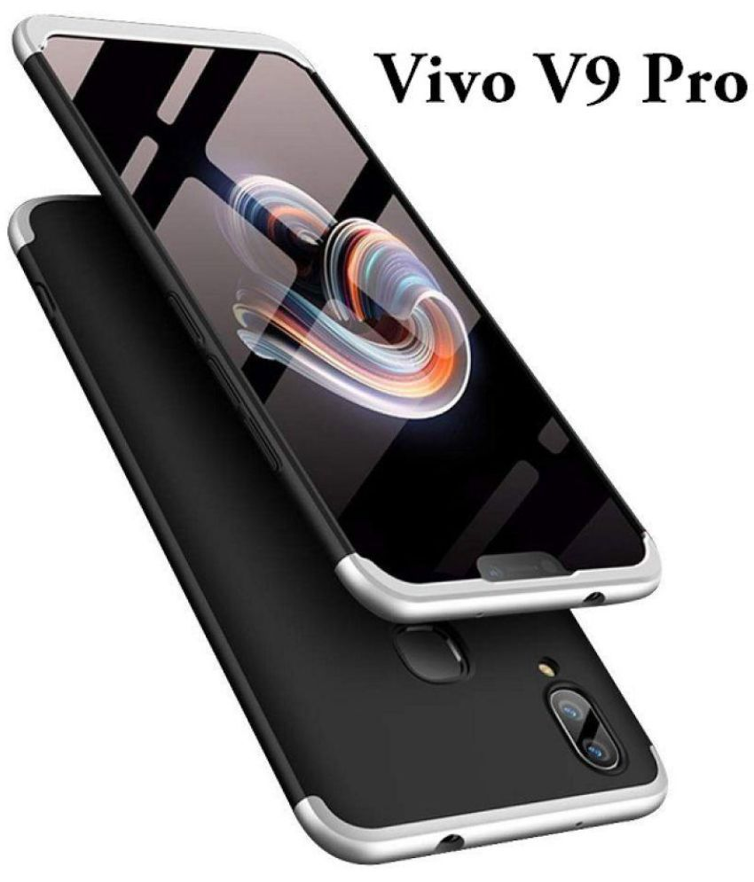 brand new ac5eb b705a Vivo V9 Pro Hybrid Covers JMA - Silver Original Gkk 360° Protection Slim  Case