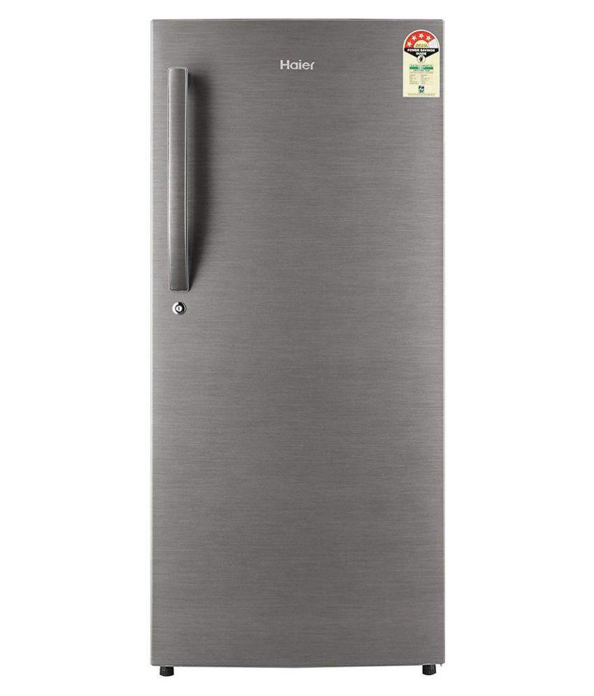Haier 195 Ltr 4 Star 1954CBS-E Single Door Refrigerator - Silver