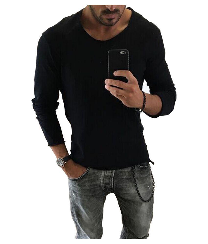 Helisopus Black Full Sleeve T-Shirt