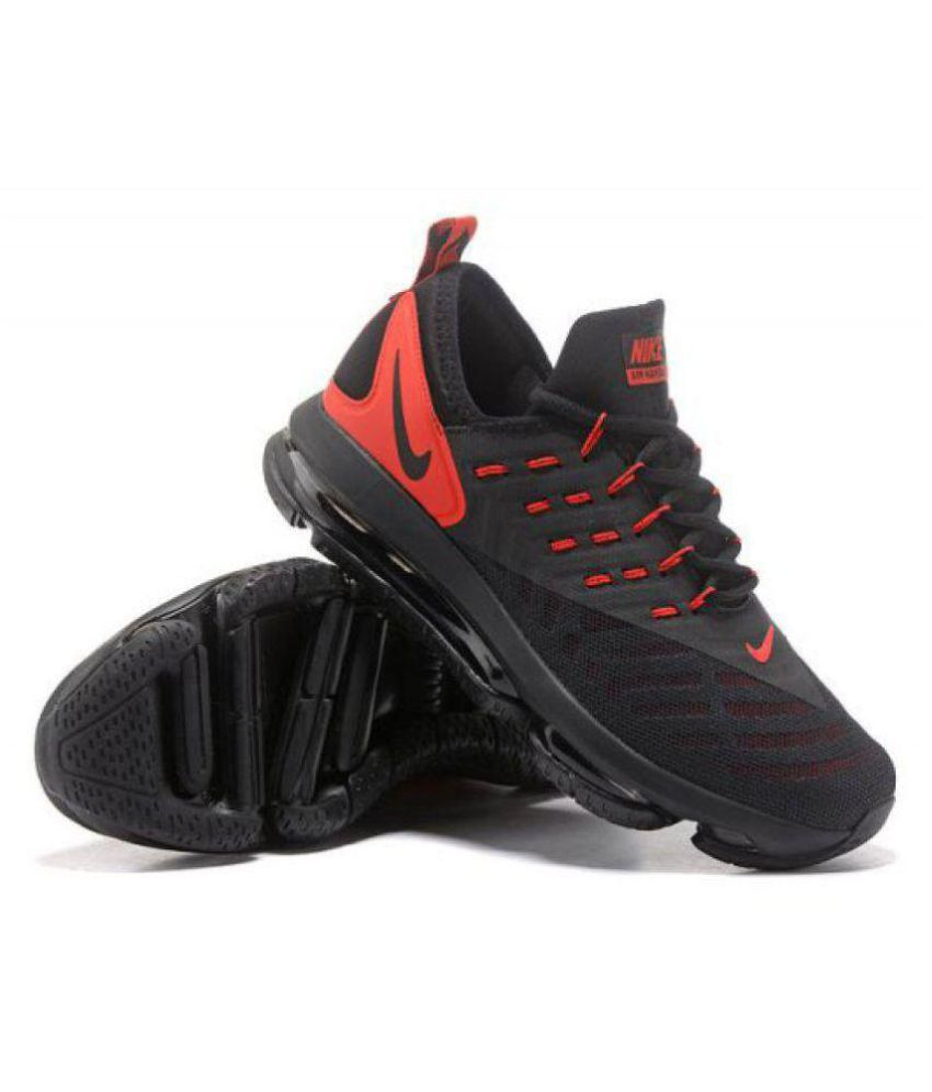 4d975d0fd10 Nike AirMax Black Running Shoes - Buy Nike AirMax Black Running Shoes Online  at Best Prices in India on Snapdeal