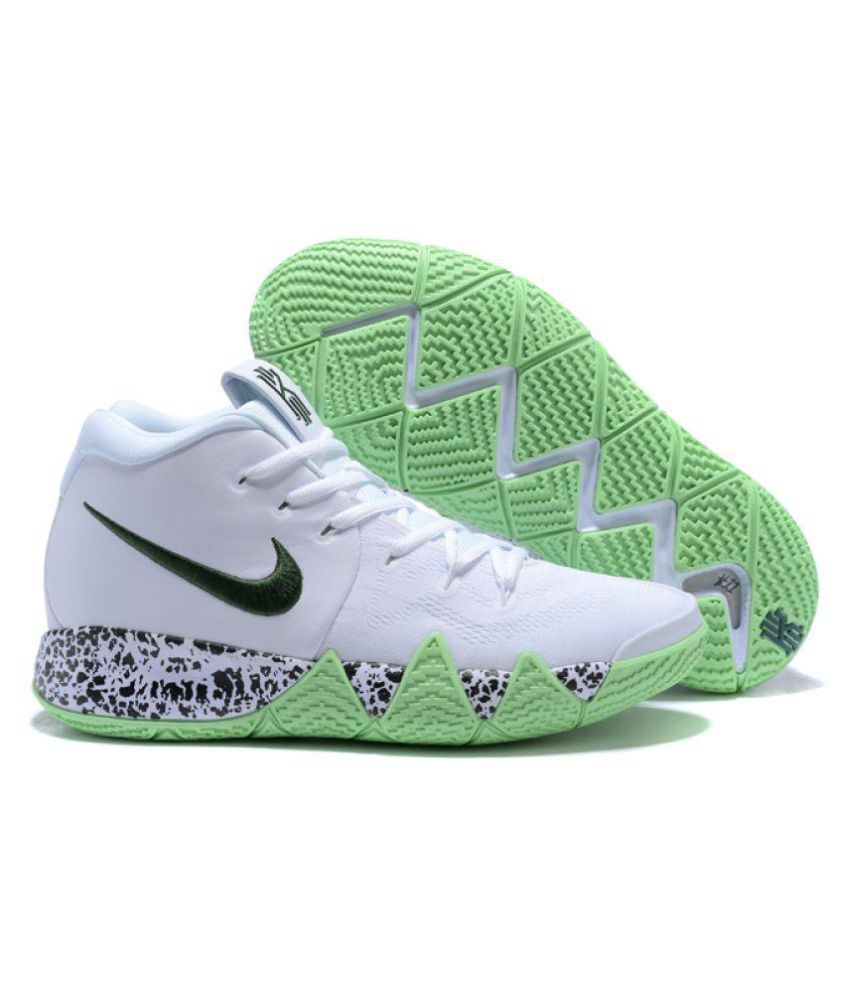 Nike Kyrie 4 White Glow Running Shoes