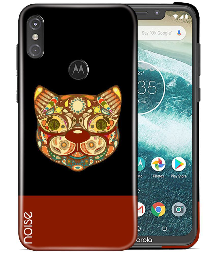Motorola One Power Printed Cover By Noise