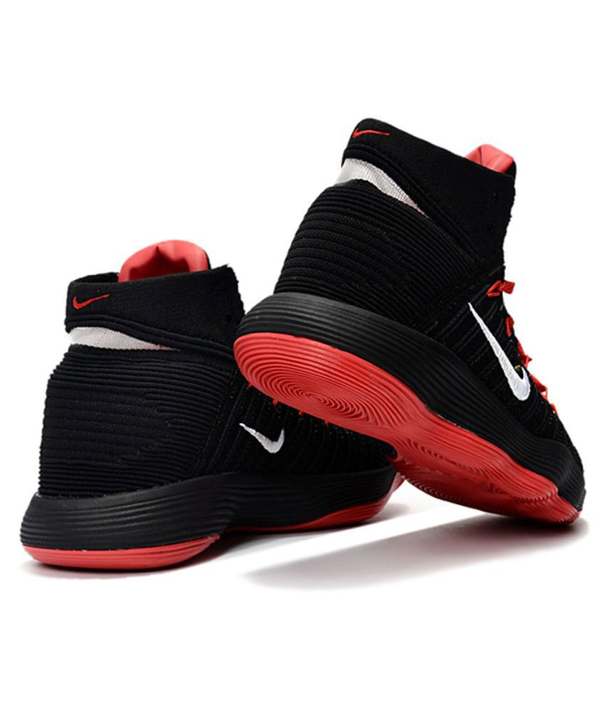 3aa389b9a597 Nike HYPERDUNK 2017 FLYKNIT Black Basketball Shoes - Buy Nike ...