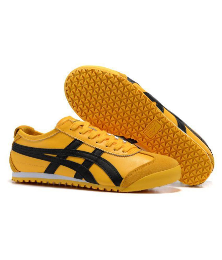 promo code 9cb98 d0568 ONITSUKA TIGER Outdoor Yellow Casual Shoes