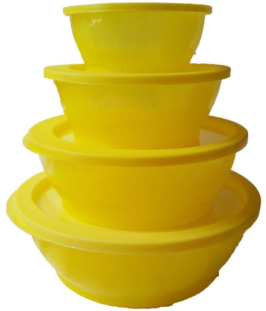 GreenViji Polyproplene Food Container Set of 4