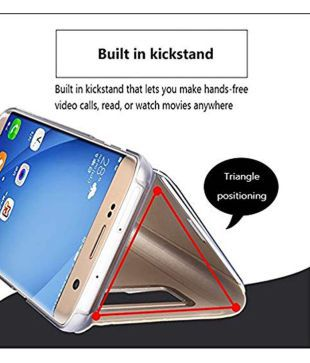 Xiaomi Redmi Note 5 Pro Flip Cover by FineDeal - Blue - Flip