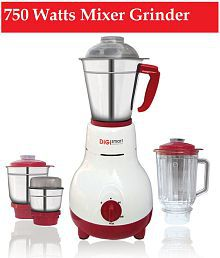 Digi Smart 750 Watts Mixer Grinder-4 JARS