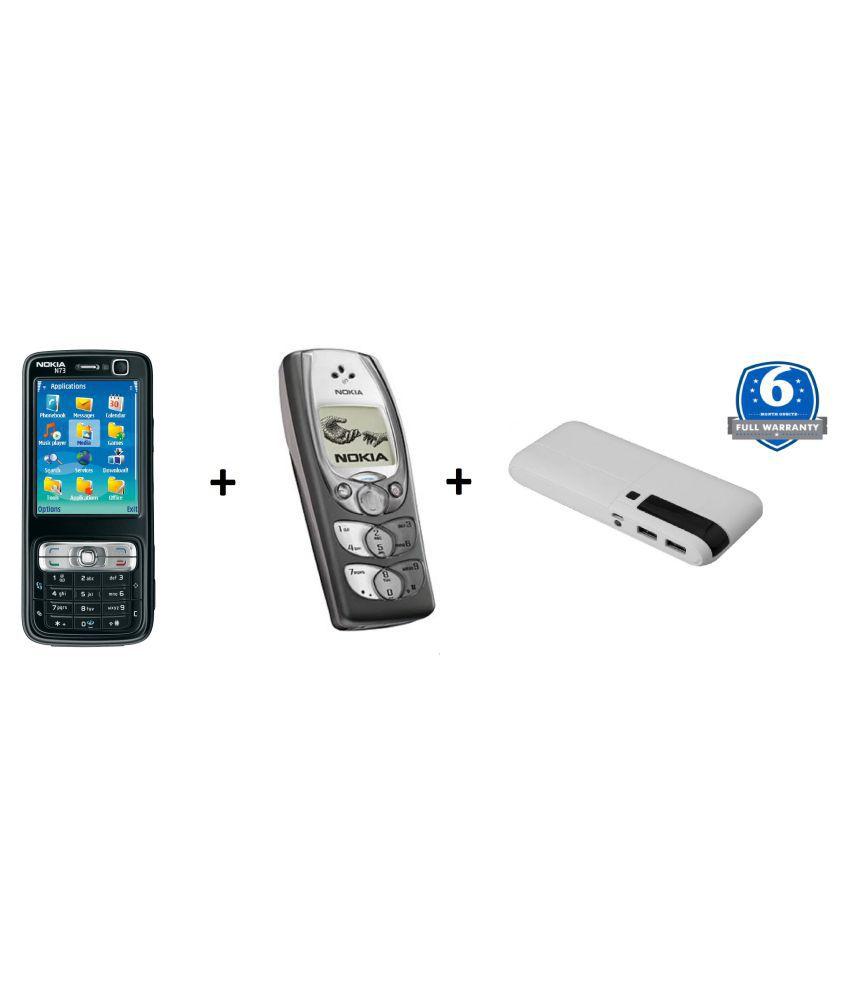 Camolinz Buy Nokia N73 Get 2300 & Power Bank Blue - Feature
