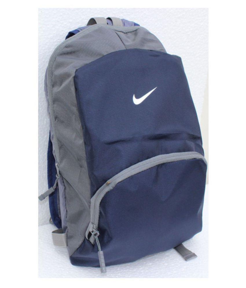 2285ecdc221 Nike Blue Lightweight Stylish Backpack - Buy Nike Blue Lightweight Stylish  Backpack Online at Low Price - Snapdeal