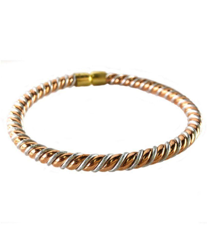 100% Pure Ashtdhatu Kada bracelet adjustable Bangle by The Holy Mart  Mixed metal Astrobangle