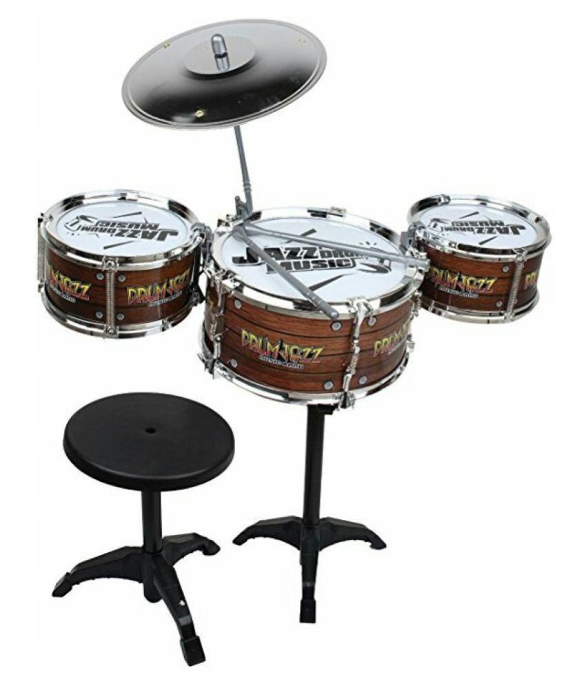 OH BABY;BABY The New And Latest Jazz Drum Set For Kids With 3 Drums And 2 Sticks SE-ET-172