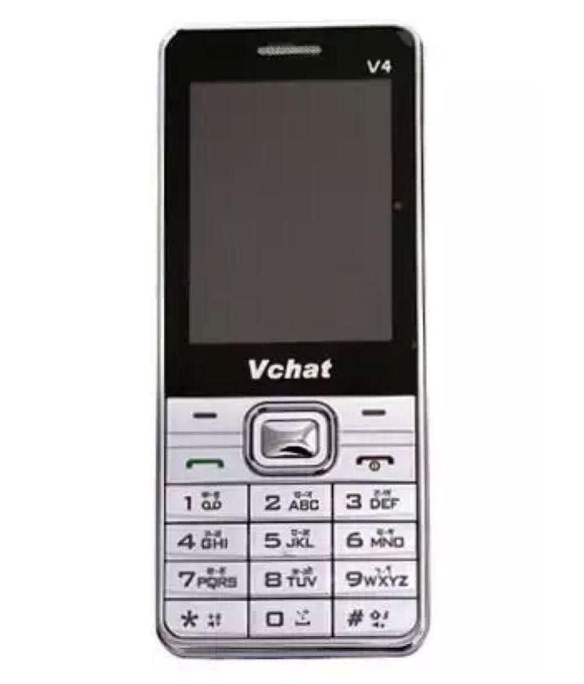 Mobiles Stop Metallic Silver vchat 35 MB