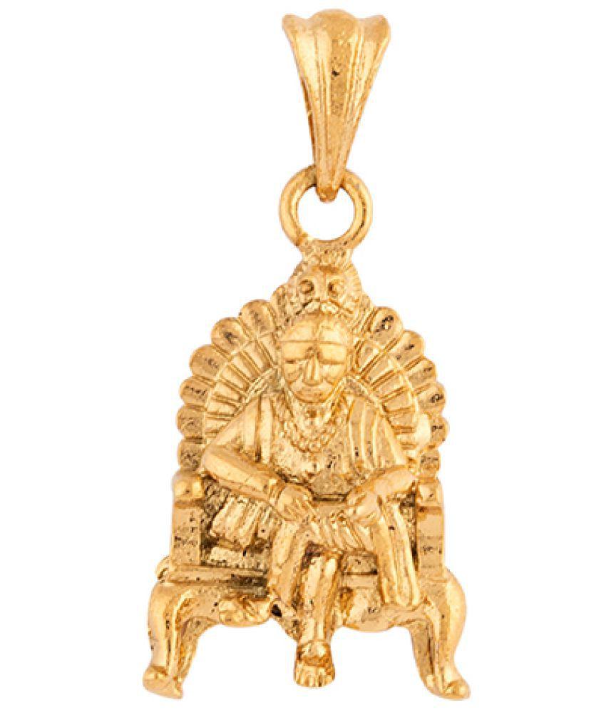 Voylla Faith & Trust Sai Baba Blessings Pendant Gift for Him, Boy, Men, Father, Brother, Boyfriend, Party Wear, Daily Wear,Festive Wear