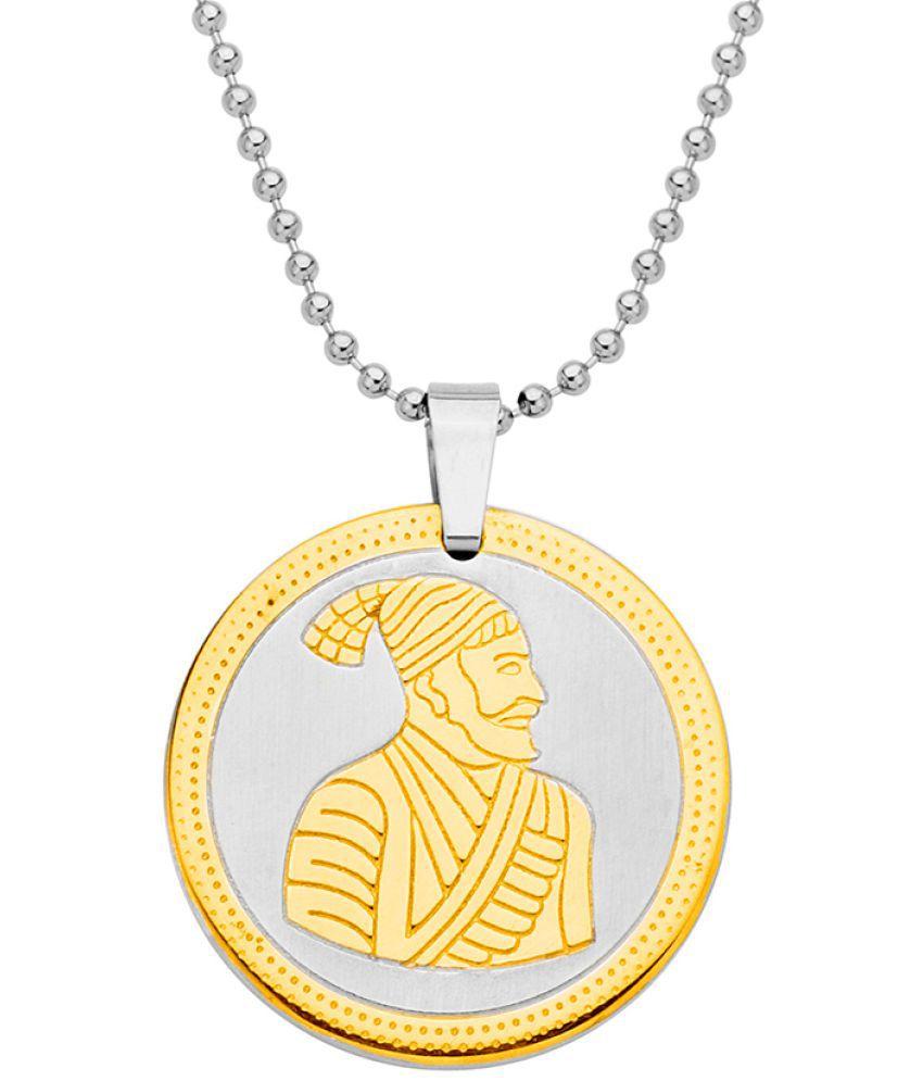 Voylla Guru Gobind Singh Ji Pendant from Faith and Trust Gift for Him, Boy, Men, Father, Brother, Boyfriend, Party Wear, Daily Wear,Festive Wear