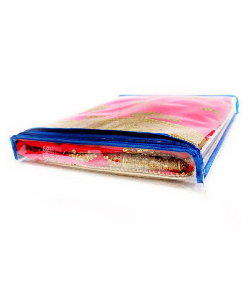 ZAKHRO Blue Saree Covers - 6 Pcs