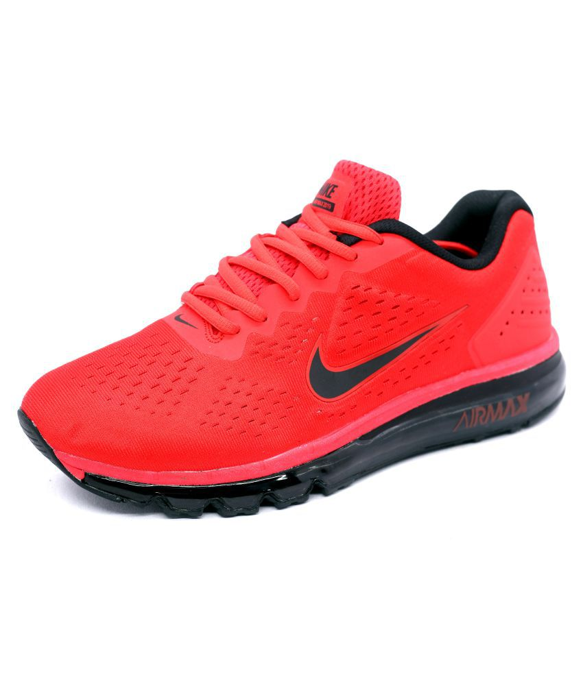 37f1e8617481 Nike Air Max 2019 LTD Eddition Running Shoes Red  Buy Online at Best Price  on Snapdeal
