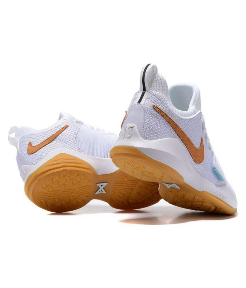 the latest 462f3 2868b ... Nike PG 1 PAUL GEORGE IVORY White Basketball Shoes ...