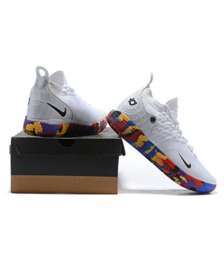 "photos officielles 9a3b6 213d7 Nike Zoom KD 11 ""EP"" LTD 2018 White Basketball Shoes"