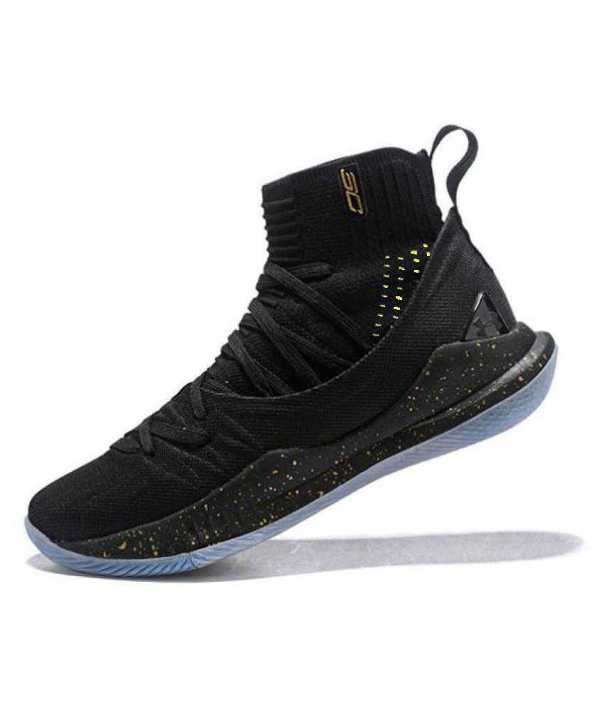 29b10627f71a Under Armour CURRY Black Basketball Shoes - Buy Under Armour CURRY ...