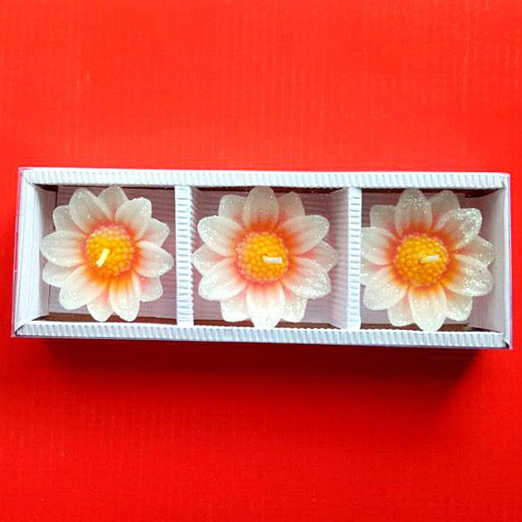 Limerence Yellow Wax Tea Light - Pack of 3