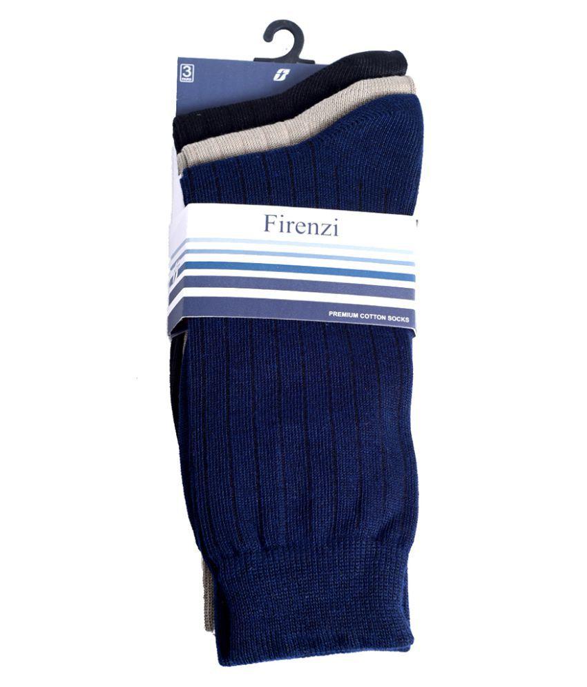 Firenzi Multi Casual Mid Length Socks