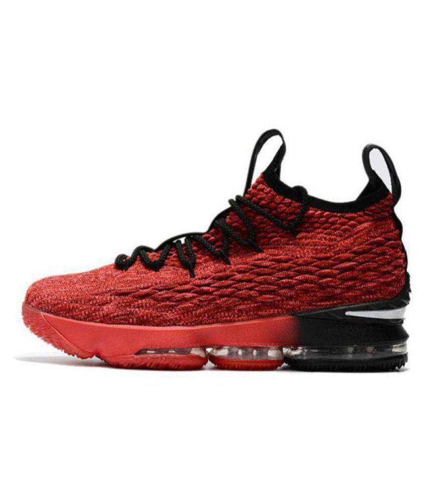 6030264a9812 Nike Labron 15 Red Basketball Shoes - Buy Nike Labron 15 Red Basketball  Shoes Online at Best Prices in India on Snapdeal