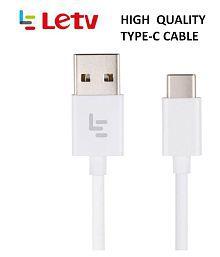 LeTv Type C Cable White - 1 Meter Original