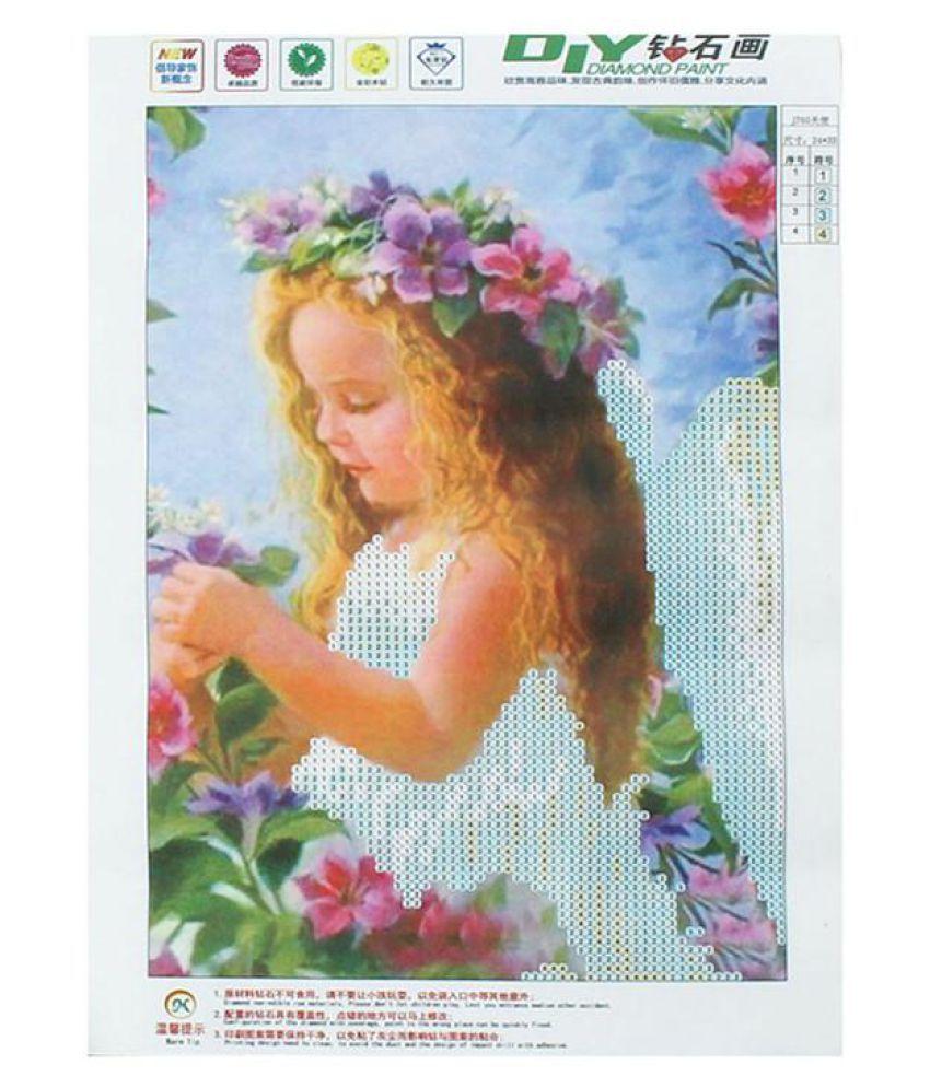 Angel Girl Diamond Embroidery 5D Diamond DIY Painting Cross Stitch Home Decor