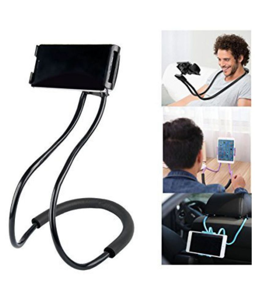 Die Hard(TN), Flexible Neck Lazy Mobile Phone Holder Stand , DIY Rotating Mounts with Multi-function support for Android, Apple Devices, Xiaomi Mi, iPhone, Phillips, Vivo, Bose, Boat One Plus, Motorola, Samsung, LG mobile & Android/iOS Devices