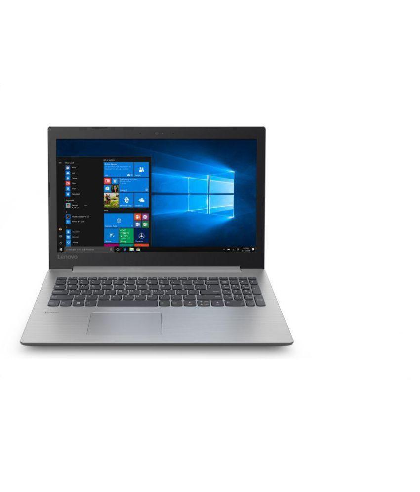 Lenovo Ideapad 330 (AMD A9 /4 GB RAM/1 TB HDD/39 624 cm (15 6 inch)/Windows  10) 81D600B0IN (Platinum Grey 2 2 Kg)