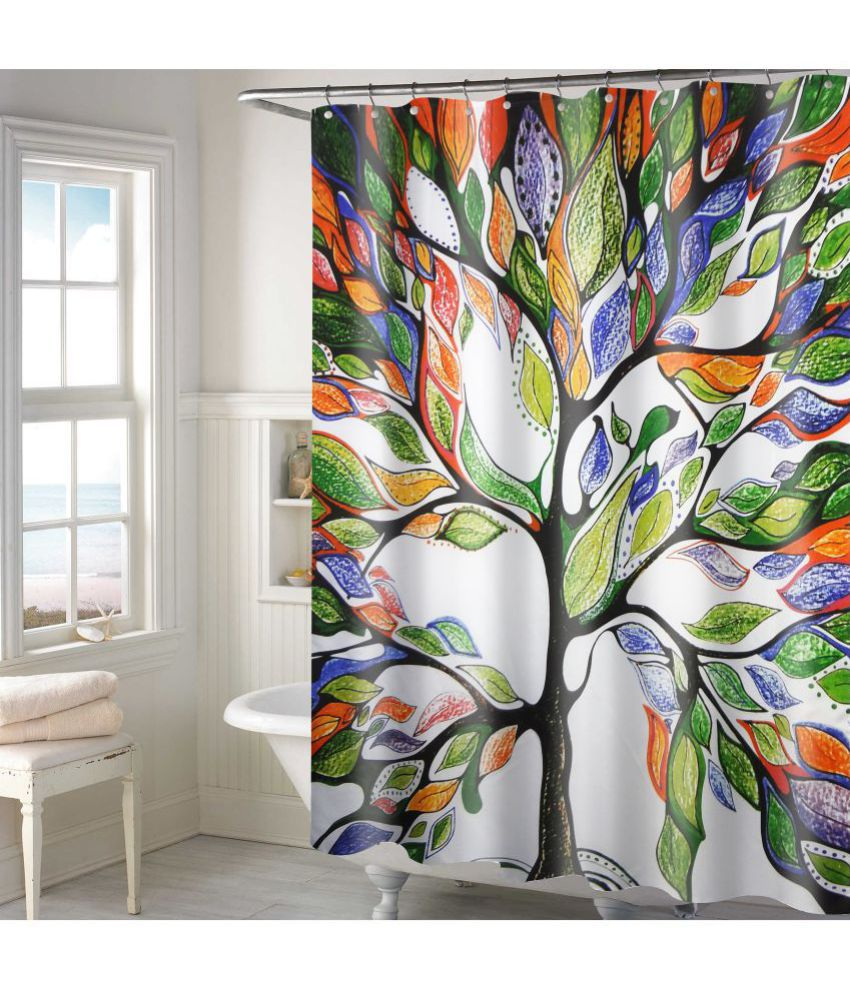 Lushomes Single Shower Curtain Multi Others