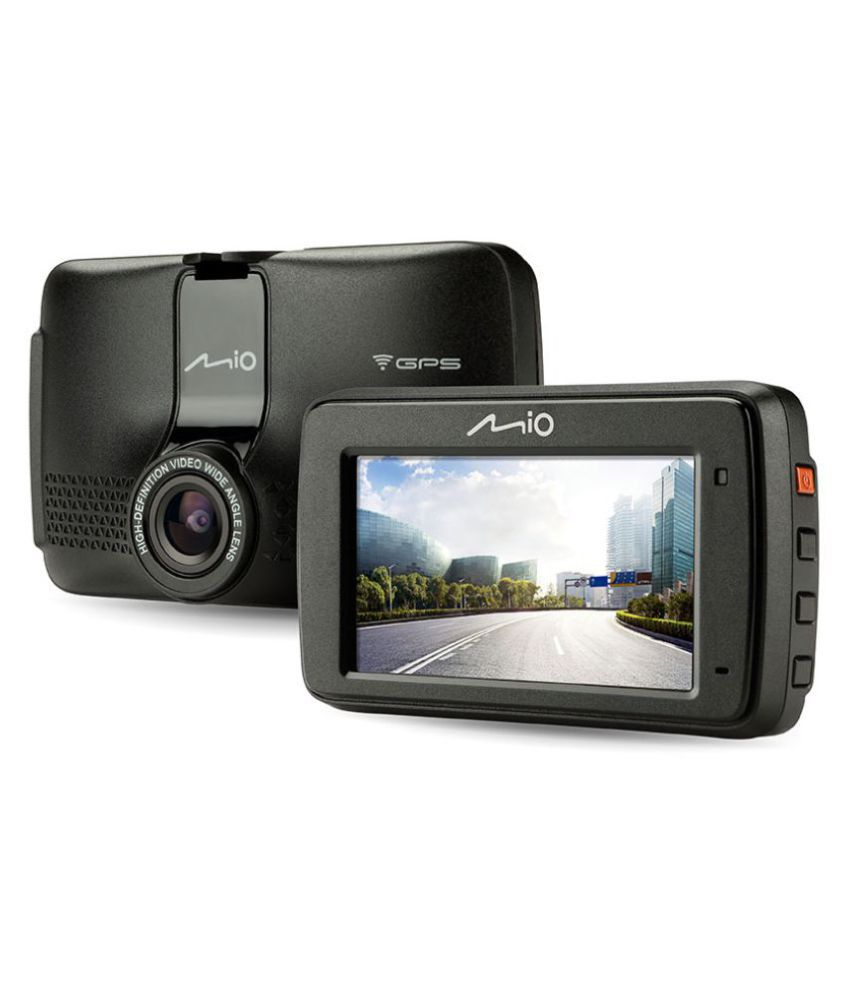 Mio DASHCAM 733 ( HD DVR, 2.7 Inch LCD Display, WIFI, GPS Tracking, Pre Installed ADAS )