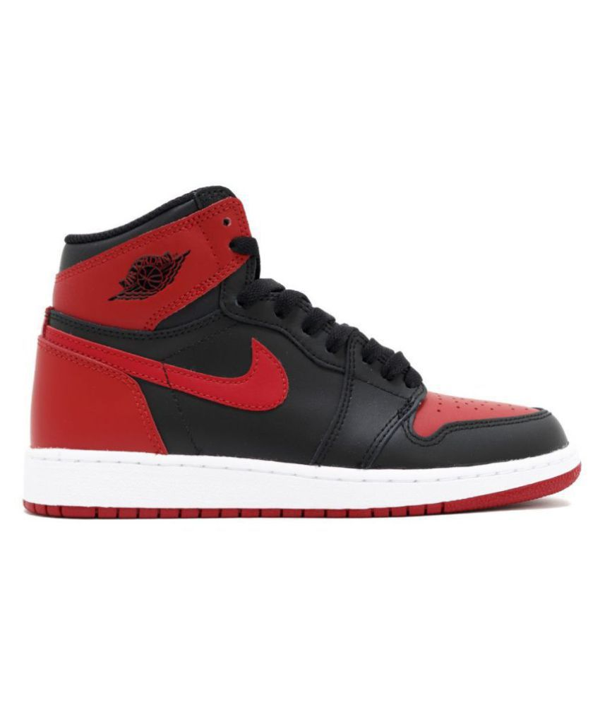 Nike Air Jordan 1 Retro Running Shoes Red Buy Online At Best Price On Snapdeal