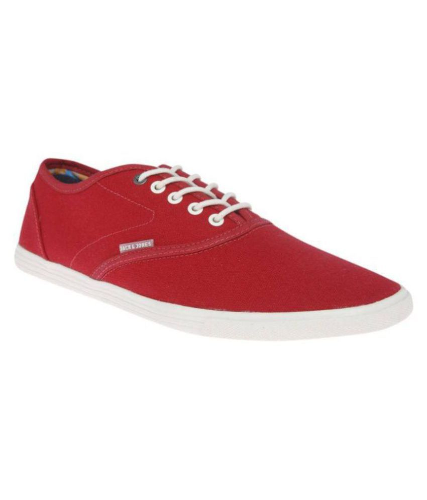 297604edc94a57 Jack & Jones Sneakers Red Casual Shoes - Buy Jack & Jones Sneakers Red  Casual Shoes Online at Best Prices in India on Snapdeal