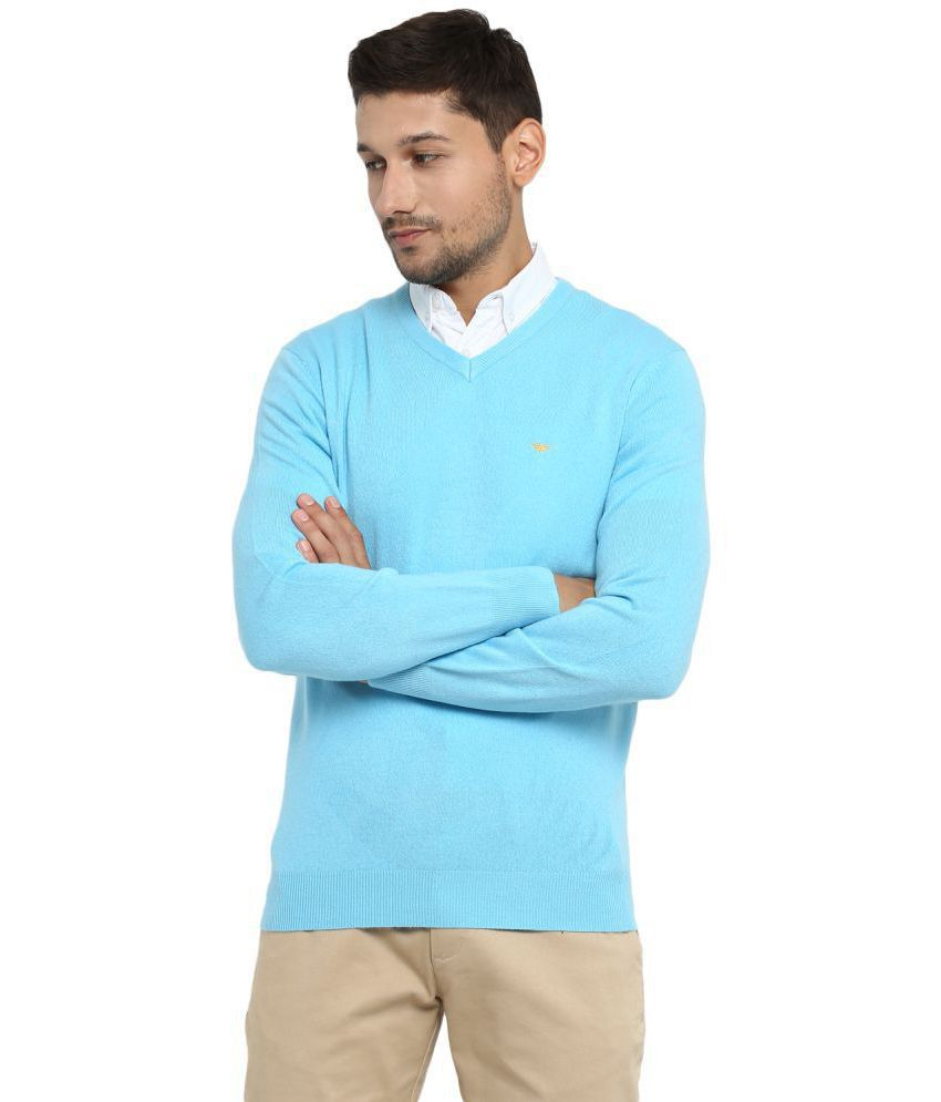 8bc99113d549 Red Tape Blue V Neck Sweater - Buy Red Tape Blue V Neck Sweater Online at  Best Prices in India on Snapdeal