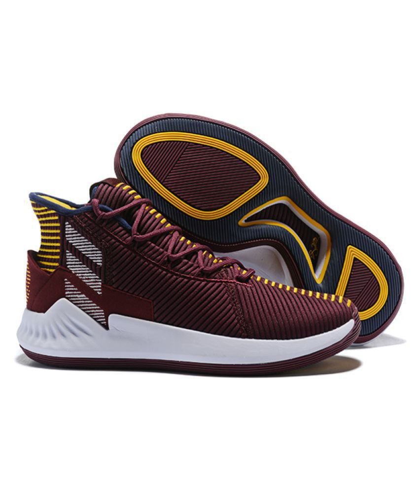 D Adidas Ltd Maroon Rose Basketball 2018 9 Shoes ALj354Rq