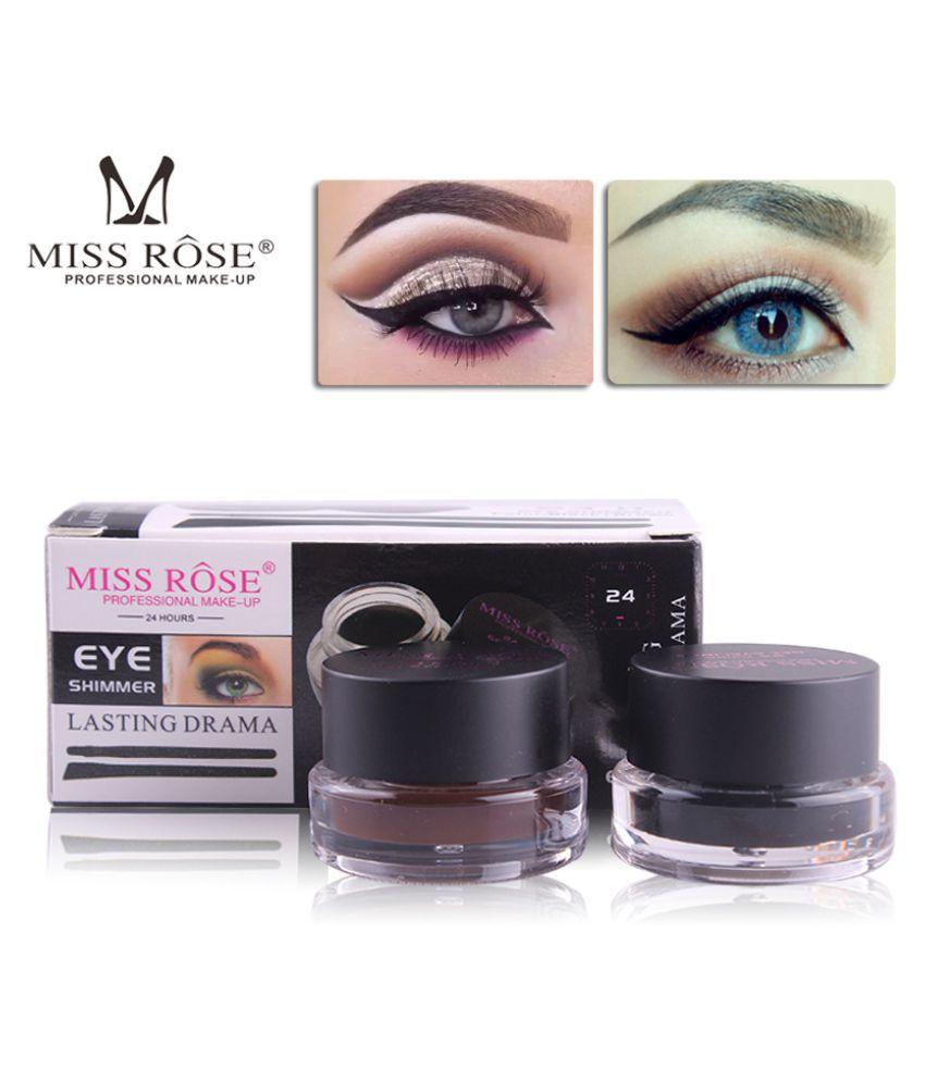Miss Rose Miss Rose Cream Eyeliner Black and Brown 0.05 kg