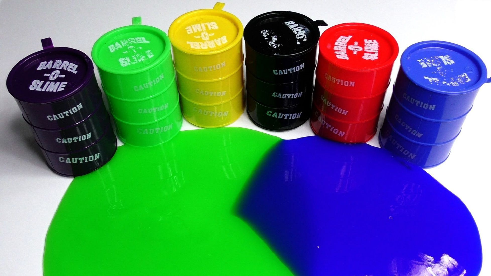 Ayezent Barrel O Slime Toy ( Pack of 22 ) - Multi Colors- Birthday Return Gift For all Age Groups / Keyboard Cleaner