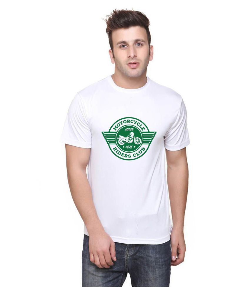 British Terminal White Half Sleeve T-Shirt Pack of 1