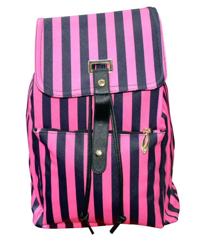 KEKEMI LTB069 16 L  Backpack for Girls (Pink)