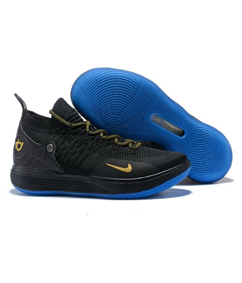 "c721a41068055 Nike Zoom KD 11 ""Panther"" LTD 2018 Black Basketball Shoes - Buy Nike Zoom  KD 11 ""Panther"" LTD 2018 Black Basketball Shoes Online at Best Prices in  India on ..."