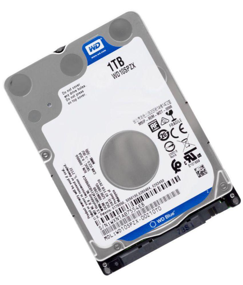 WD Western Digital WD10SPZX 1 TB Internal Hard Drive Internal Hard drive